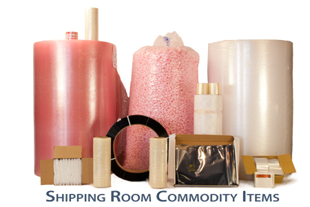 SoulePackaging shipping room commodity items